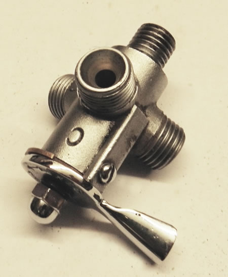 MG D type Fuel Tap